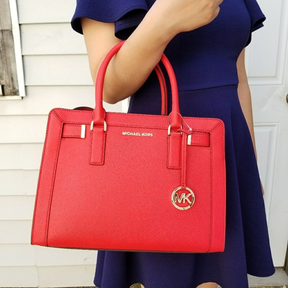 2cb3e8e18f63 ... bag d17f6 7f3d4  netherlands michael kors dillon md dk sangria satchel  cross f9a26 cef91